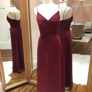 Long, Chiffon Bridesmaid Dress